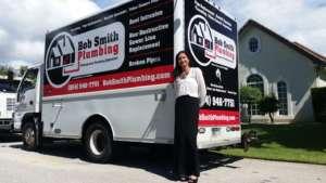 Bob Smith Plumbing Florida Truck